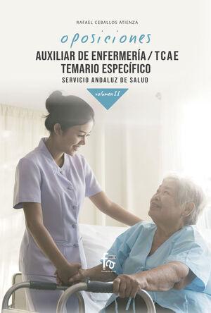 020 (ANDALUCIA) T2 AUXILIAR DE ENFERMERI6A/ TCAE. TEMARIO ESPECIFICO SERVICIO ANDALUZ DE SALUD