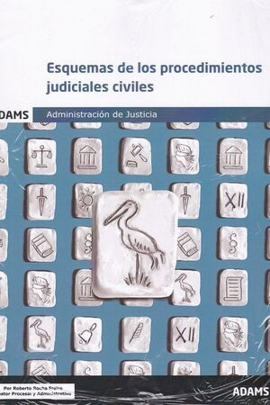 019 ESQUEMAS PROCEDIMIENTOS JUDICIALES CIVILES ADMINISTRACION DE JUSTICIA