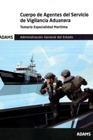 021 TEMARIO CUERPO AGENTES DEL SERVICIO DE VIGILANCIA ADUANERA