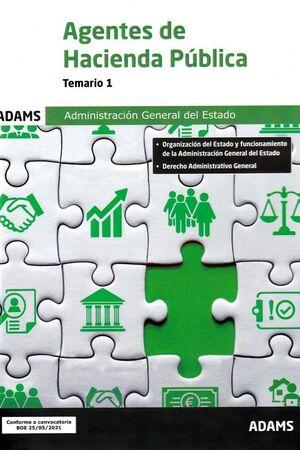 021 T1 AGENTES HACIENDA PÚBLICA ADMINISTRACION GENERAL DEL ESTADO