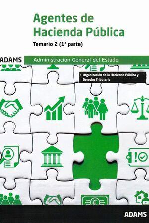 021 2VOLS TEMARIO AGENTES HACIENDA PUBLICA ADMINISTRACION GENERAL ESTADO