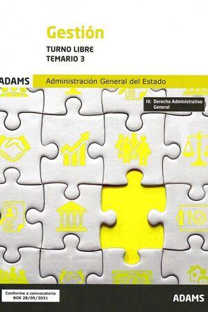 021 T3 (LIBRE) GESTION ADMINISTRACION GENERAL DEL ESTADO