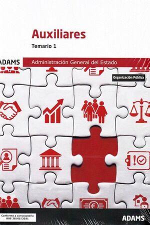021 TEM1 AUXILIARES ADMINISTRACIÓN DEL ESTADO