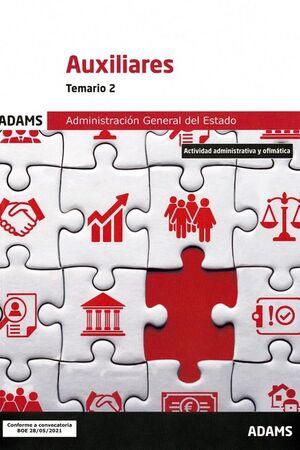 021 T2 AUXILIARES ADMINISTRACION GENERAL ESTADO
