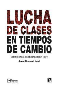 LUCHA DE CLASES EN TIEMPOS DE CAMBIO