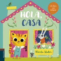 HOLA, CASA -UN LIBRO CON SOLAPAS