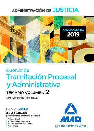 019 T2 (INTERNA) TRAMITACIÓN PROCESAL Y ADMINISTRATIVA ADMINISTRACION DE JUSTICIA