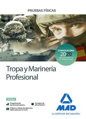 020 TROPA Y MARINERÍA PROFESIONAL -PRUEBAS FISICAS