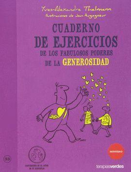 CUADERNO EJERCICIOS DE LOS FABULOSOS PODERES DE LA GENEROSIDAD