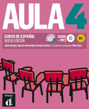 020 AULA 4 B1.2 LIBRO DEL ALUMNO N/E