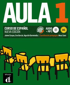 013 AULA 1  A1 - LIBRO DEL ALUMNO +CD AUDIO MP3