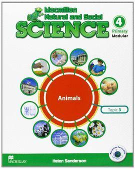 012 4EP ANIMALS MODULAR MACMILLAN NATURAL AND SOCIAL SCIENCE