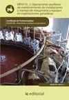 MF0715_1 OPERACIONES AUXILIARES DE MANTENIMIENTO DE INSTALACIONES Y MANEJO DE MAQUINARIA