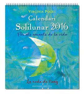 CALENDARIO  SOLILUNAR 2016 (CATALÁN)