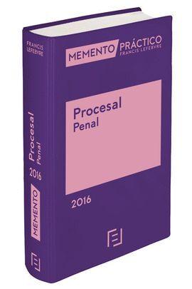 016 PROCESAL PENAL -MEMENTO PRACTICO 2016