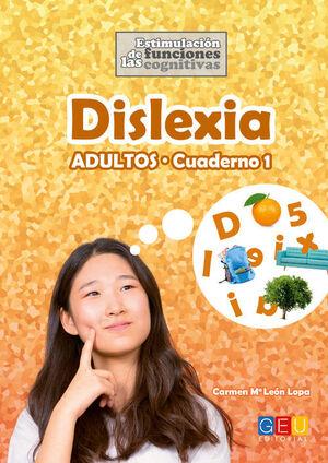DISLEXIA ADULTOS CUADERNO 1