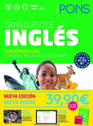 GRAN CURSO DE INGLÉS PONS A1-A2-B1) NUEVA EDICIÓN