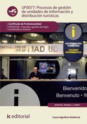 UF0077 PROCESOS DE GESTION DE UNIDADES DE INFORMACION Y...