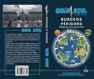 018 BURDEOS  Y PÉRIGORD GUIA AZUL