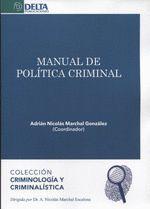 MANUAL DE POLITICA CRIMINAL