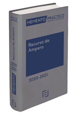 RECURSO DE AMPARO 2020-2021 -MEMENTO PRACTICO