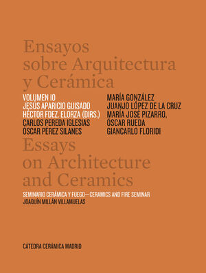 ENSAYOS SOBRE ARQUITECTURA Y CERAMICA VOL 10
