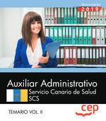 019 T2 AUXILIAR ADMINISTRATIVO SERVICIO CANARIO DE SALUD