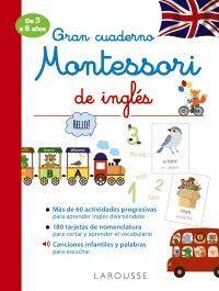 GRAN CUADERNO MONTESSORI DE INGLES 3-6 AÑOS