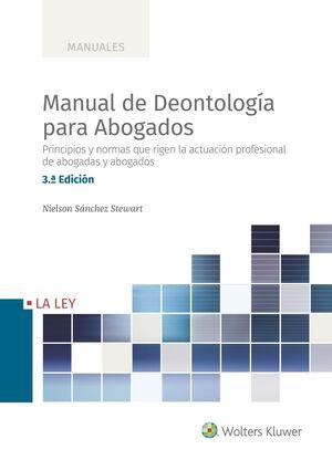MANUAL DE DEONTOLOGIA PARA ABOGADOS
