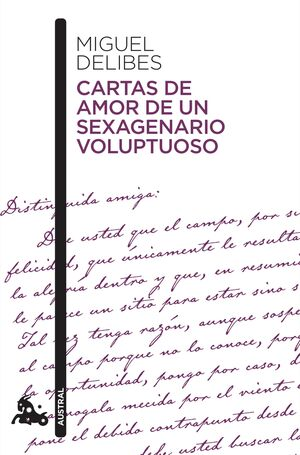 CARTAS DE AMOR DE UN SEXAGENARIO VOLUPTUOSO