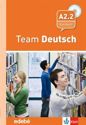 010 4ESO A2.2 TEAM DEUTSCH KURSBUCH +CD