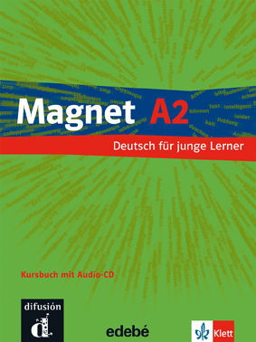 011 2ESO A2 MAGNET KURSBUCH (+CD)