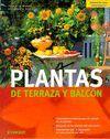PLANTAS DE TERRAZA Y BALCON. JARDINERIA PARA PRINCIPIANTES