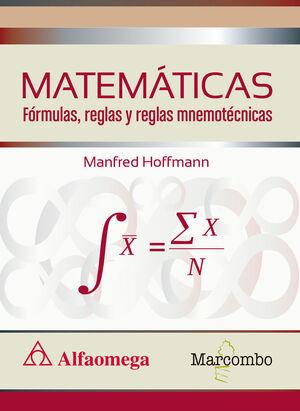 MATEMATICAS FORMULAS Y REGLAS NEMOTECNICAS