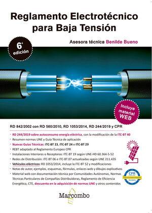 020 RBT REGLAMENTO ELECTROTÉCNICO PARA BAJA TENSIÓN 6ª ED. 2020