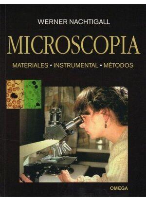 MICROSCOPIA -MATERIALES, INSTRUMENTAL, METODOS
