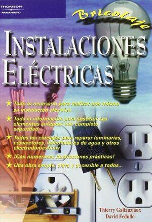 INSTALACIONES ELECTRICAS - BRICOLAJE