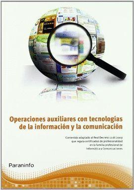 MF1209 OPERACIONES AUXILIARES CON TECNOLOGIAS INFORMACION Y COMUNICACION