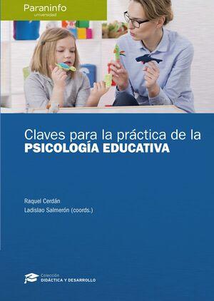 CLAVES PARA LA PRÁCTICA DE LA PSICOLOGÍA EDUCATIVA