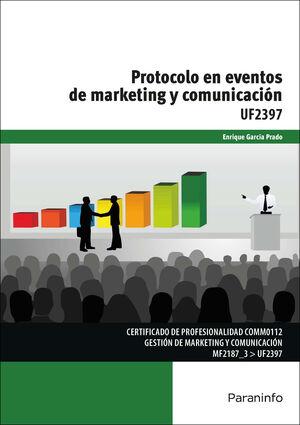 UF2397 PROTOCOLO EN EVENTOS DE MARKETING Y COMUNICACION