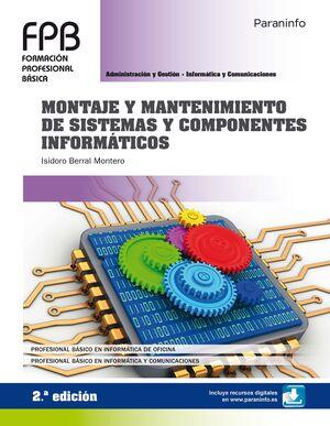 019 FPB MONTAJE Y MANTENIMIENTO DE SISTEMAS Y COMPONENTES INFORMÁTICOS