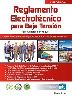020 RBT -REGLAMENTO ELECTROTÉCNICO PARA BAJA TENSIÓN  4.ª EDICIÓN