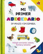 PRIMER ABECEDARIO, MI. EN INGLES Y EN ESPAÑOL