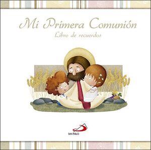 MI PRIMERA COMUNION LIBRO DE RECUERDOS SIN ESTUCHE