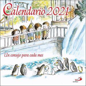 021 CALENDARIO DE PARED UN CONSEJO PARA CADA MES 2021