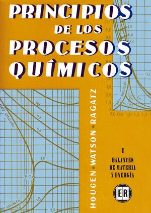 T/I. PRINCIPIOS PROCESOS QUIMICOS -BALANCES DE MATERIA Y ENERGIA