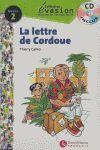LETTRE DE CORDOUE, LA. NIVEAU 2 + CD -COLLECTION EVASION