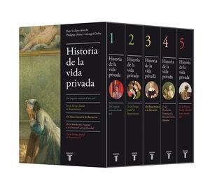 5VOLS HISTORIA DE LA VIDA PRIVADA (ESTUCHE)