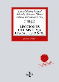021 LECCIONES DEL SISTEMA FISCAL ESPAÑOL