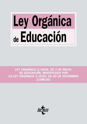 021 LEY ORGÁNICA DE EDUCACIÓN